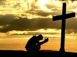 men at the cross
