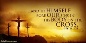 He bore our Sins